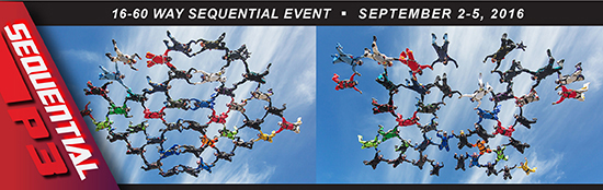 16-60 Way Sequential Event (September 2016)