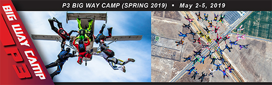 P3 Big Way Camp (Spring 2019)